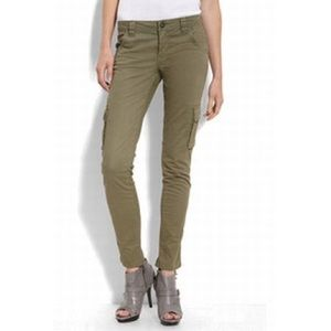 Sanctuary Olive Green Skinny Cargo Pants